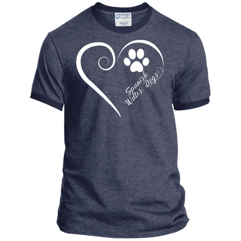 Spanish Water Dog, Always in my Heart Ringer Tee