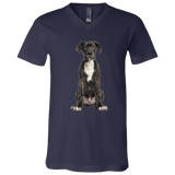 Great Dane Puppy Unisex Jersey SS V-Neck T-Shirt