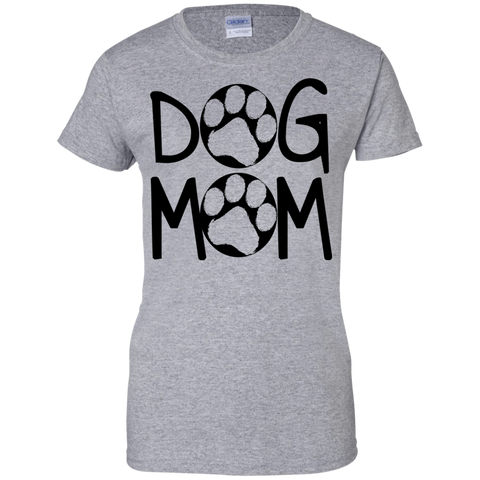 Dog Mom - Fitted Ladies Tee