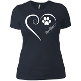 Papillon, Always in my Heart Ladies' Boyfriend Tee
