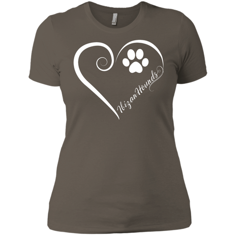 Ibizan Hound, Always in my Heart  Ladies' Boyfriend Tee