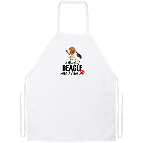 I kissed a Beagle and I liked it Apron