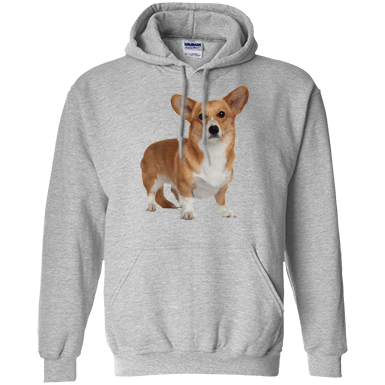 Corgi let it snow Hoodie