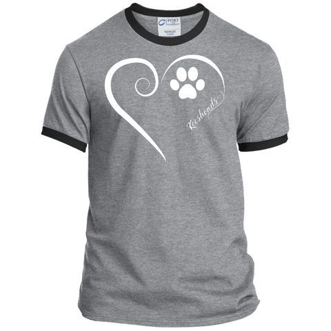 Keeshond, Always in my Heart Ringer Tee