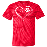 German Longhaired Pointer, Always in my Heart Tie Dye T-Shirt