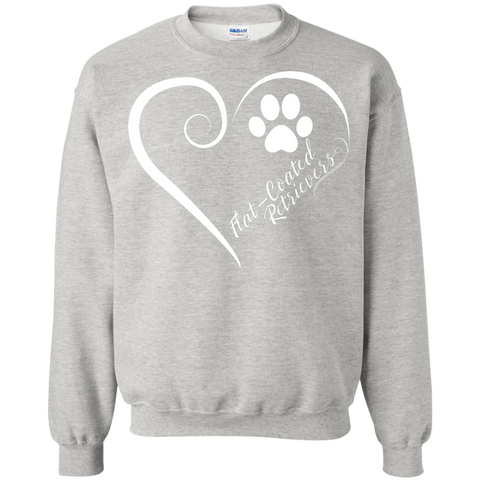 Flat-Coated Retriever, Always in my Heart Sweatshirt