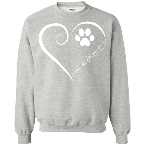 Irish Wolfhound, Always in my Heart  Sweatshirt