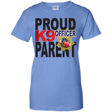 K9 Officer Ladies 100% Cotton T-Shirt