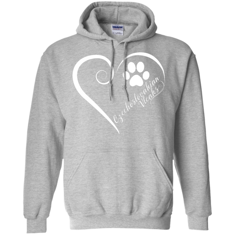 Czechoslovakian Vlcak, Always in my Heart Hoodie