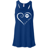 Gordon Setter, Always in my Heart Flowy Racerback Tank