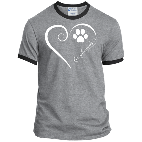 Greyhound, Always in my Heart Ringer Tee