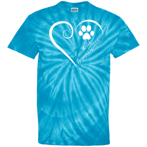 Welsh Springer Spaniel, Always in my Heart Tie Dye Tee