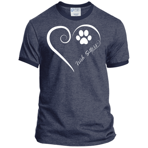 Irish Setter, Always in my Heart Ringer Tee
