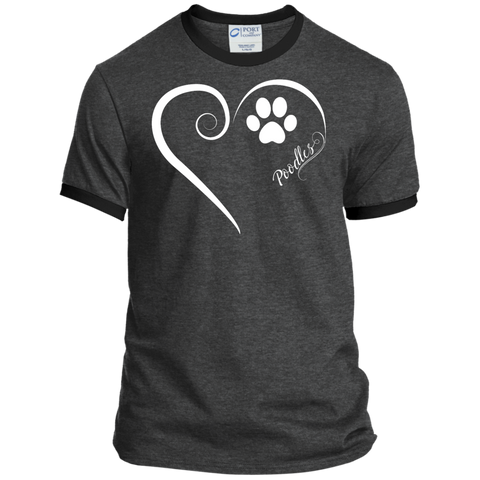 Poodle, Always in my Heart Ringer Tee