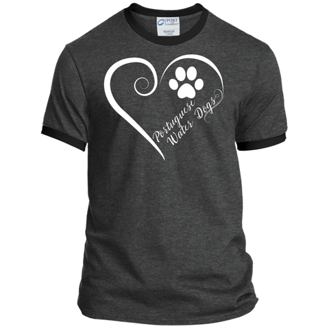 Portuguese Water Dog, Always in my Heart  Ringer Tee
