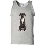 Great Dane Puppy Unisex Gildan 100% Cotton Tank Top