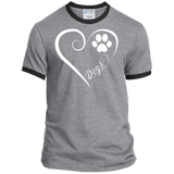 Dogs, Always in My Heart Ringer Tee