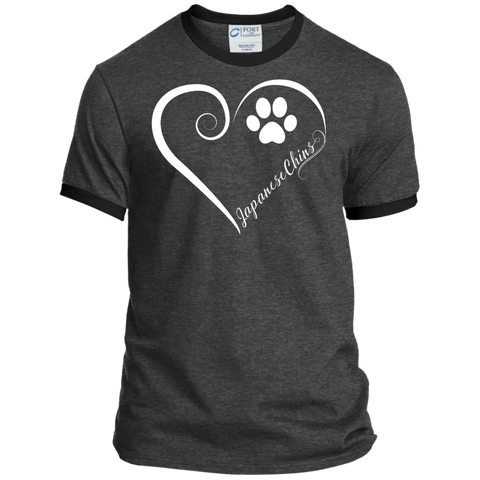 Japanese Chin, Always in my Heart  Ringer Tee