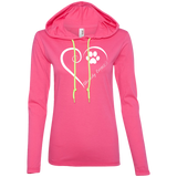Slovensky Cuvac, Always in my Heart Ladies T-Shirt Hoodie