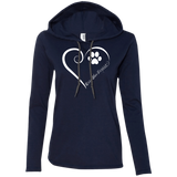Kerry Blue Terrier, Always in my Heart Ladies T-Shirt Hoodie
