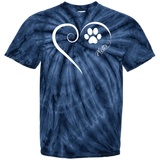 Plott Hound, Always in my Heart Tie Dye Tee