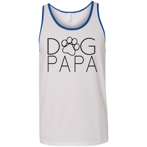 Dog PaPa 3480 Bella + Canvas Unisex Tank