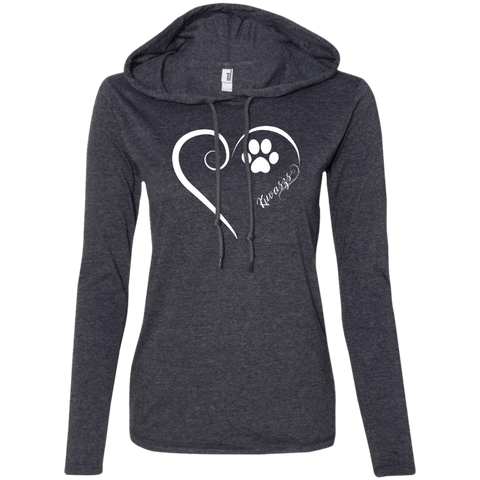 Kuvasz, Always in my Heart  Ladies T-Shirt Hoodie
