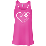 Lagotto Romagnolo, Always in my Heart Flowy Racerback Tank