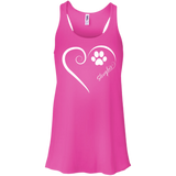 Sloughi, Always in my Heart Flowy Racerback Tank