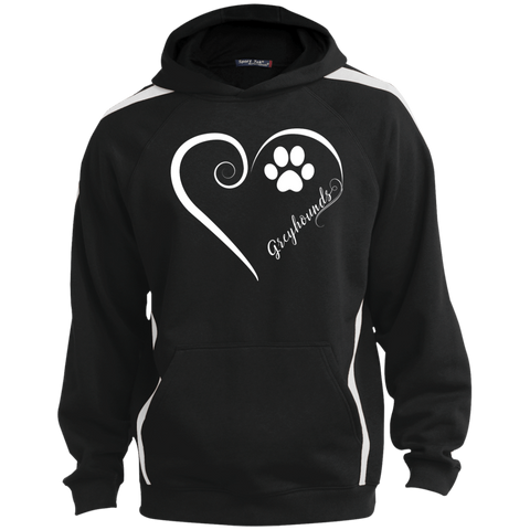 Greyhound, Always in my Heart Colorblock Sweatshirt
