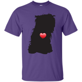 My Heart Yorkie Fuzzball Ultra Cotton T-Shirt