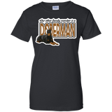 Doberman - Our Other Family Member Ladies 100% Cotton T-Shirt