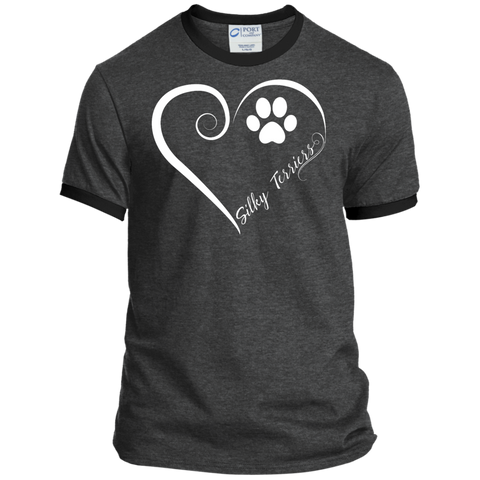 Silky Terrier, Always in my Heart Ringer Tee
