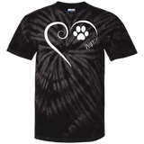 Pug, Always in my Heart Tie Dye Tee