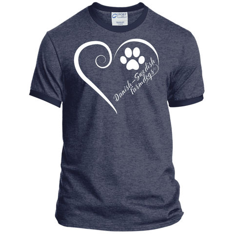 Danish-Swedish Farmdog, Always in my Heart Ringer Tee