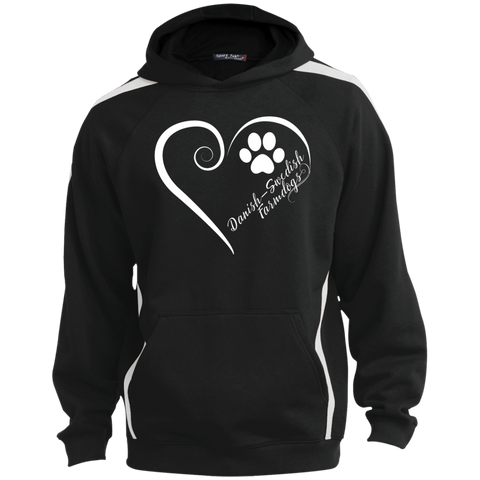 Danish-Swedish Farmdog, Always in my Heart Colorblock Sweatshirt