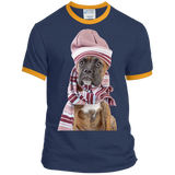 WOOF It's Cold Out There Ringer Tee