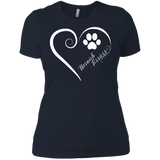 Norwich Terrier, Always in my Heart Ladies' Boyfriend Tee
