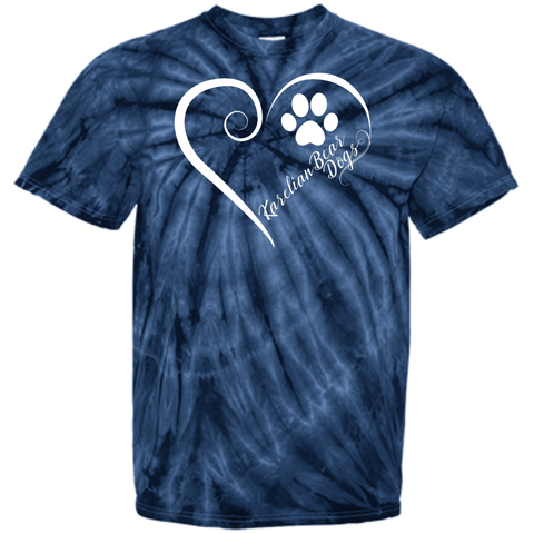 Karelian Bear Dog, Always in my Heart Tie Dye Tee