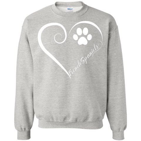 French Spaniel, Always in my Heart Sweatshirt
