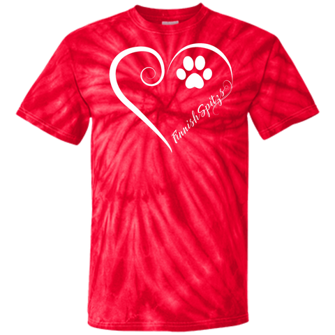 Finnish Spitz, Always in my Heart Tie Dye Tee