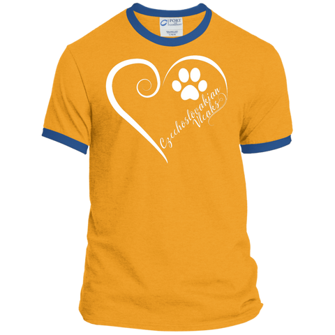 Czechoslovakian Vlcak, Always in my Heart Ringer Tee