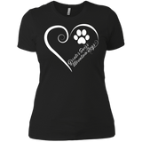 Greater Swiss Mountain Dog, Always in my Heart Ladies' Boyfriend Tee