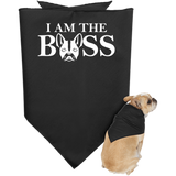 I am the Boss Doggie Bandana