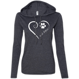 Irish Setter, Always in my Heart Ladies T-Shirt Hoodie
