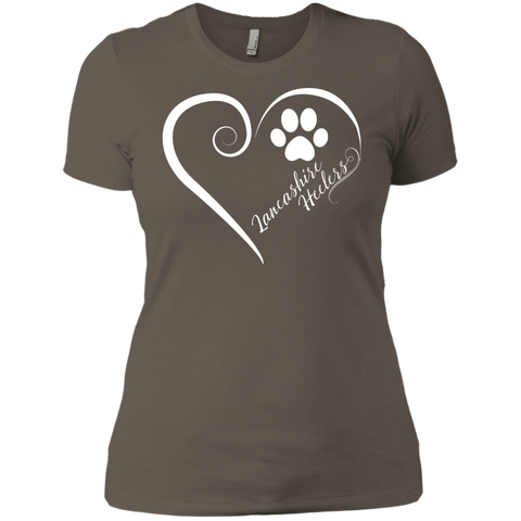 Lancashire Heeler, Always in my Heart  Ladies' Boyfriend Tee