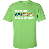 Proud American Dog Mom Tee