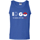 I Go To Burn Off Lazy #2 I Go Mens Tank