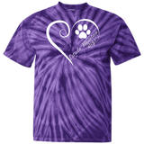 Estrela Mountain Dog, Always in my Heart Tie Dye T-Shirt