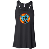 Patch Puppy Sunshine Flowy Racerback Tank